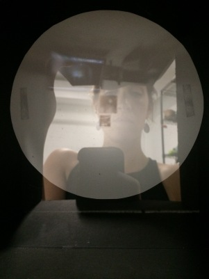 In pinhole camera self
