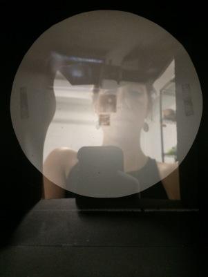 In pinhole camera self